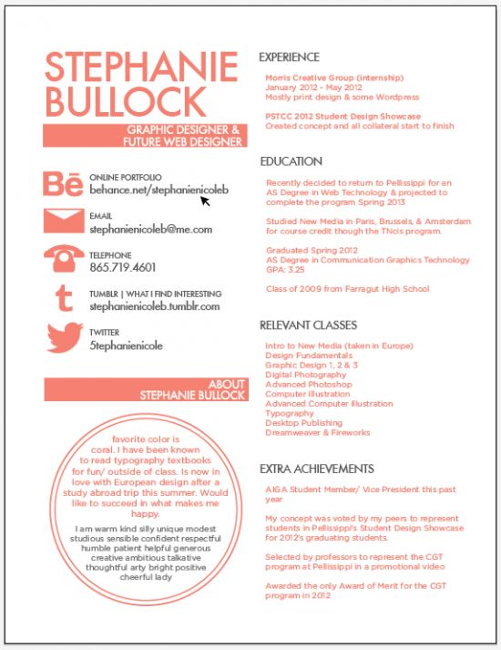 30+ Excellent Resume Designs for Inspiration -DesignBump
