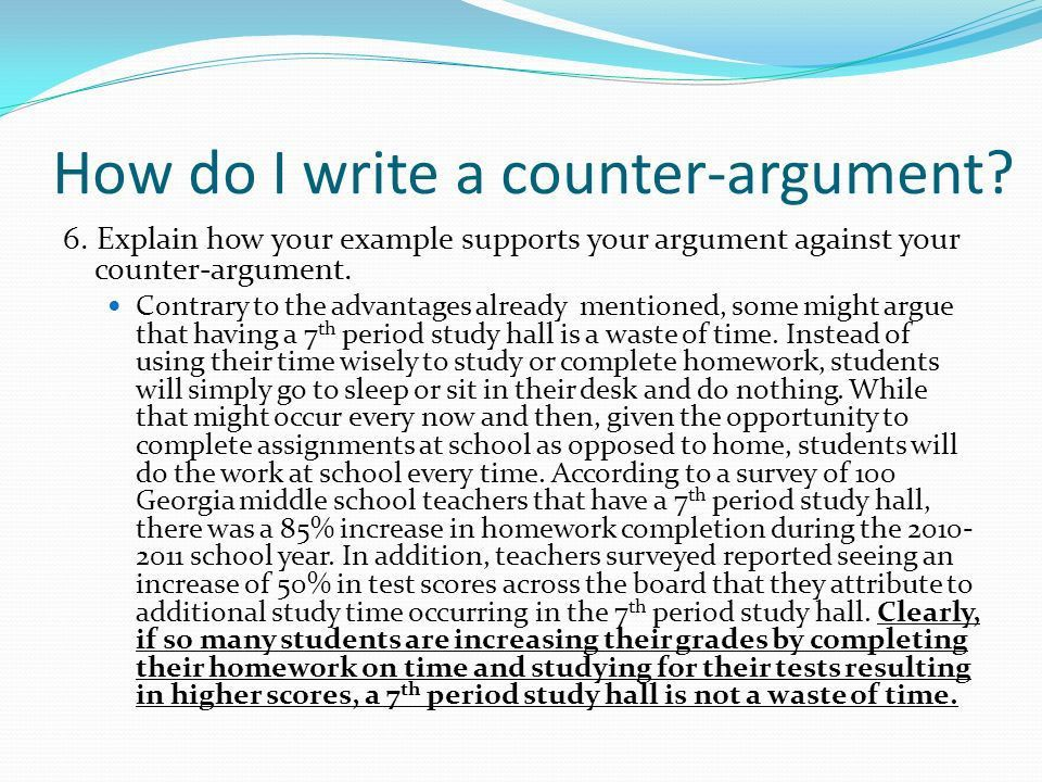 Counter Argument What's that again???. - ppt video online download