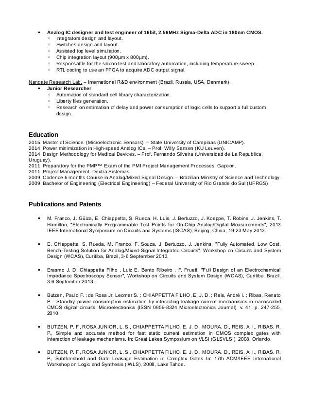 design automation engineer sample resume download automation