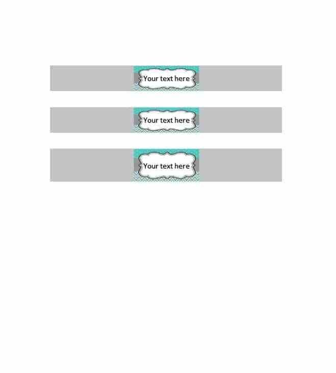 Lever Arch Label Template - Contegri.com