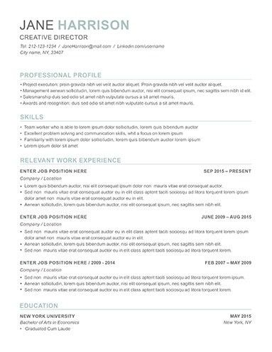 Resume Examples for Job Seekers in Any Industry - LimeResumes