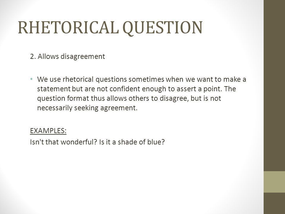 RHETORICAL DEVICES. - ppt download