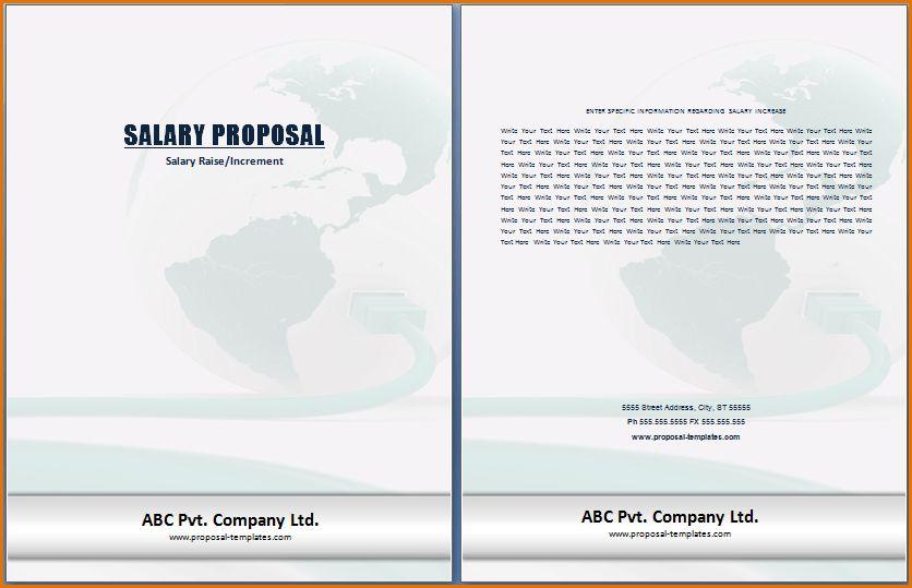 5 salary proposal template | Job Resumes Word