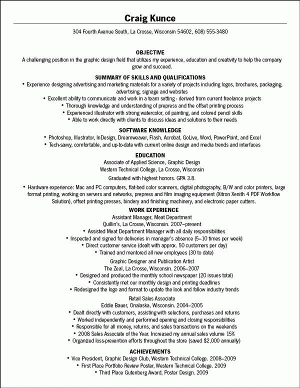 Resume Wording Examples [Template.billybullock.us ]