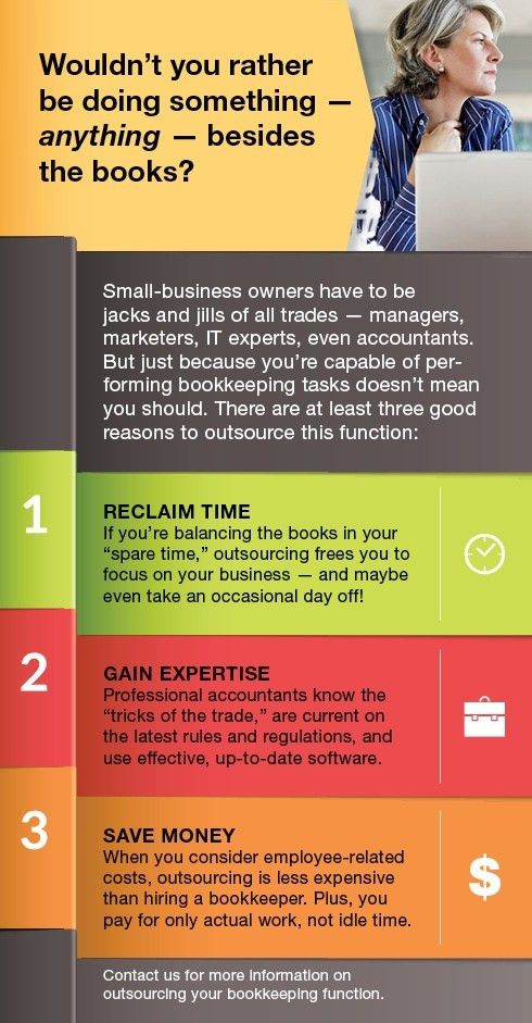 3 Reasons To Outsource Your Business's Bookkeeping