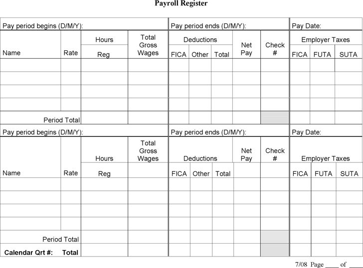 Payroll Templates - Find Word Templates