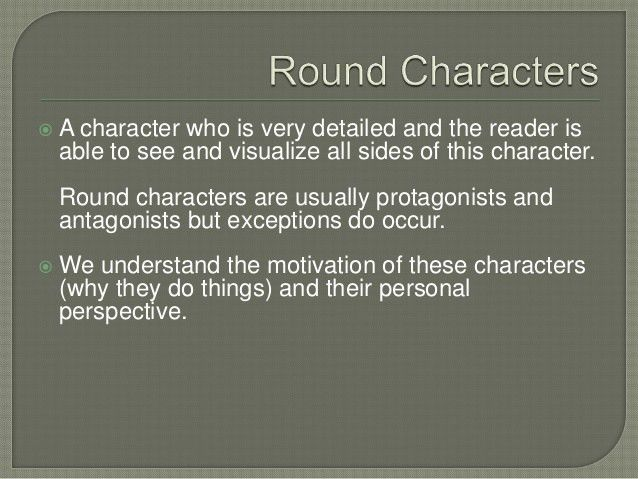 Character In Literature