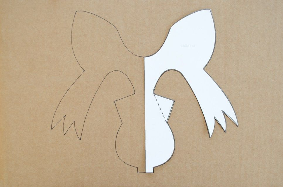 DIY: Cardboard Animal Masks for Halloween - Project Nursery
