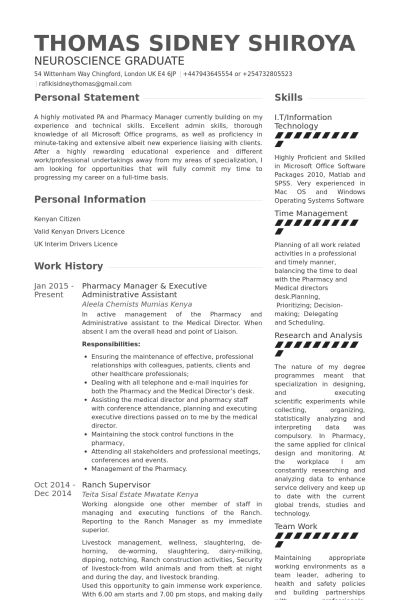 Executive Administrative Assistant Resume samples - VisualCV ...