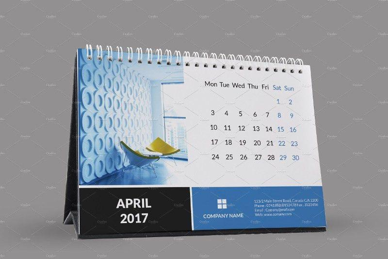 18+ 2017 Desk Calendar Designs | Free & Premium Templates