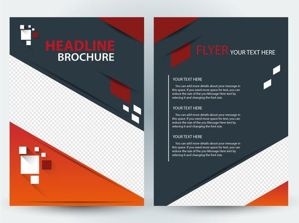Flyer background template free vector download (49,298 Free vector ...