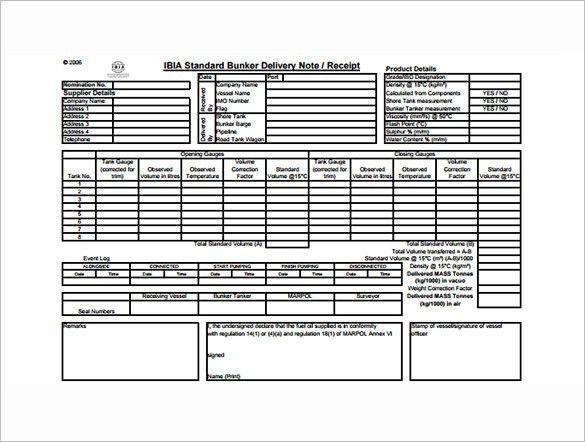 Dispatch Note Template [Nfgaccountability.com ]