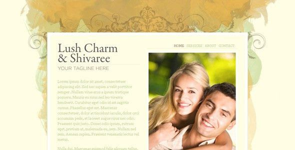 7 Elegant HTML Wedding Website Templates | Web & Graphic Design ...