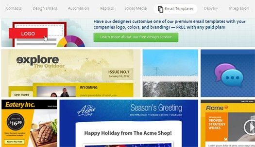 100+ Free Responsive HTML E mail / E-newsletter Templates | EGrappler