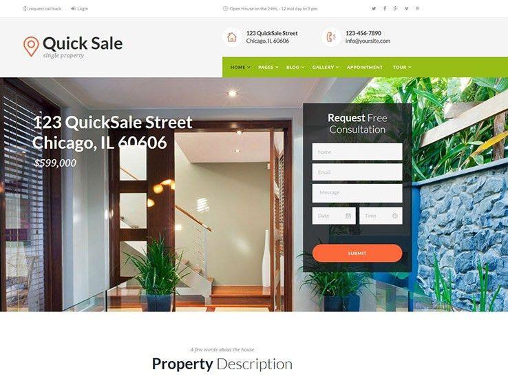 43+ Best Responsive Real Estate WordPress Themes 2017