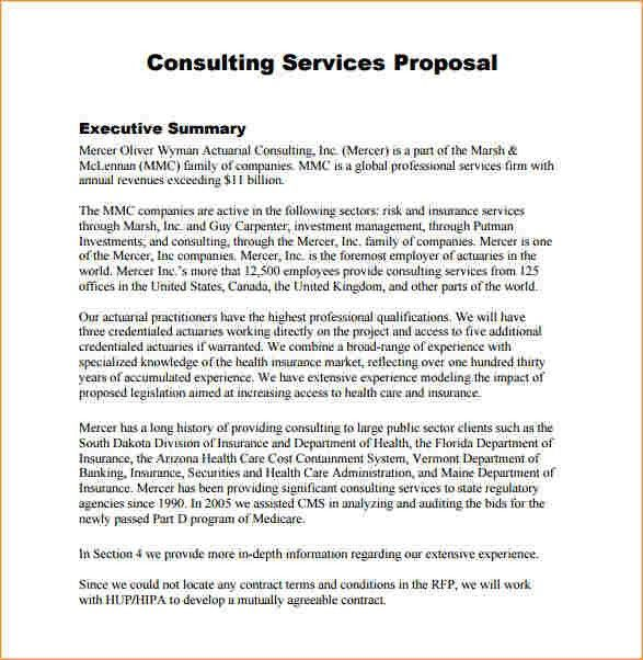 Service proposal template - Business Proposal Templated - Business ...