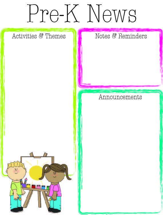 99 Best Teacher: Calendar U0026 Newsletter Templates Images On .