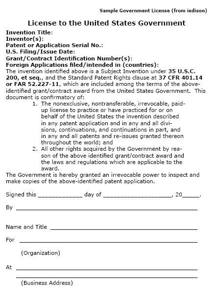 property agreement template