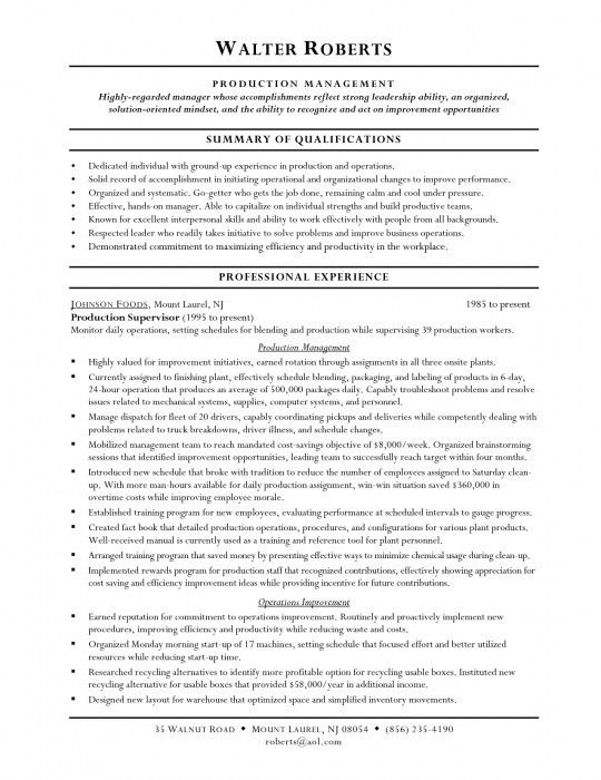 The Brilliant Warehouse Worker Resume Sample | Resume Format Web