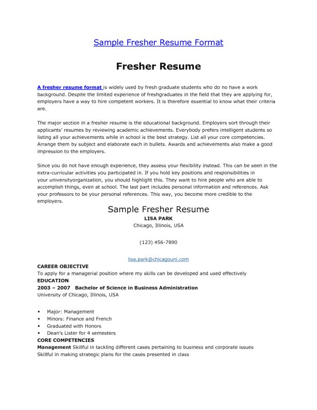 size articles chronological as the most typical resume format ...