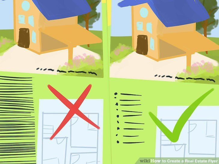 How to Create a Real Estate Flyer: 8 Steps (with Pictures)