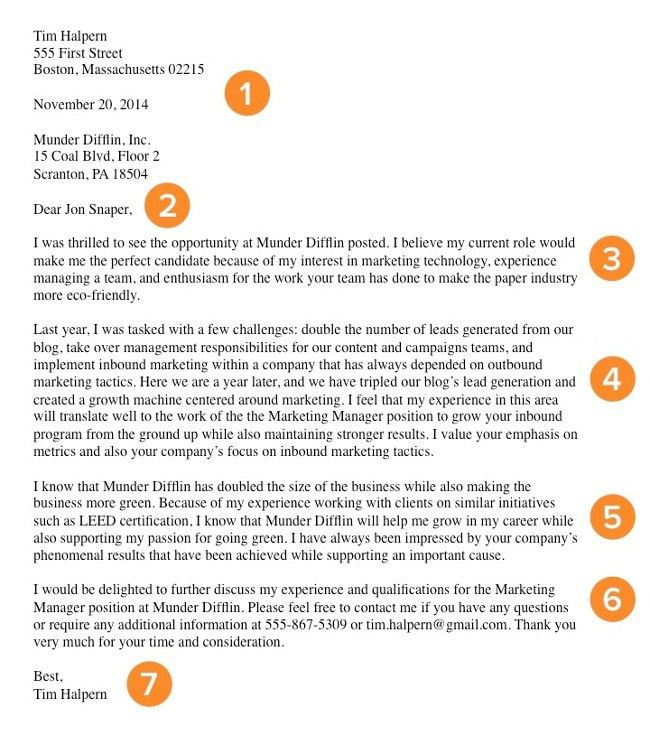 How to Write a Cover Letter That Gets You the Job [Template + ...