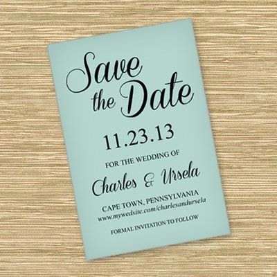Save-The-Date | Download & Print