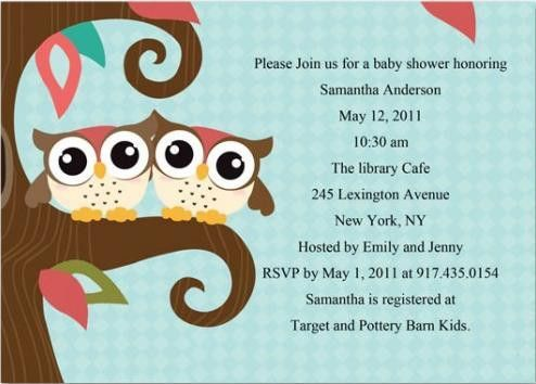 Baby Shower Invitation Template Word - Themesflip.Com
