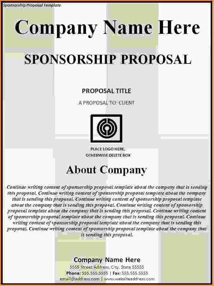 Sponsorship Template.Sponsorship Proposal Template.jpg - Loan ...