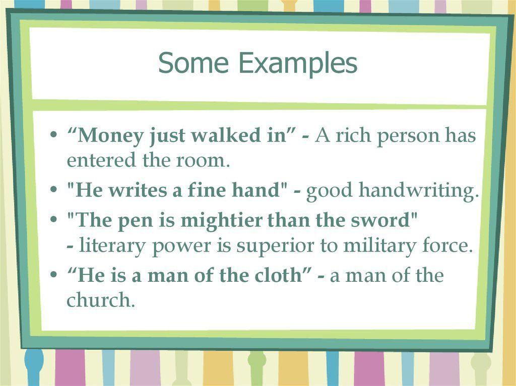 Metonymy - презентация онлайн