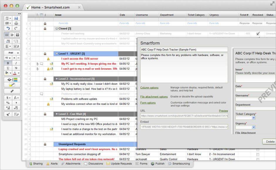 Smartsheet: How It's Used - Easy Cloud Solutions
