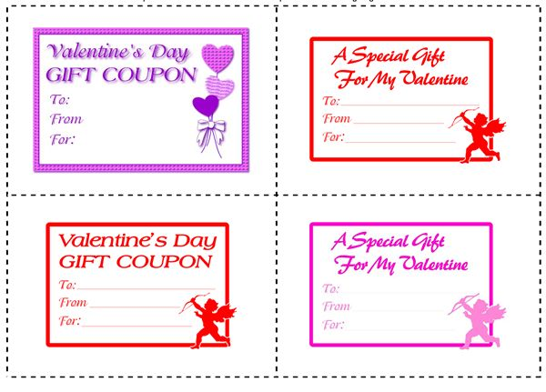 Printable Gift Coupons and IOUx