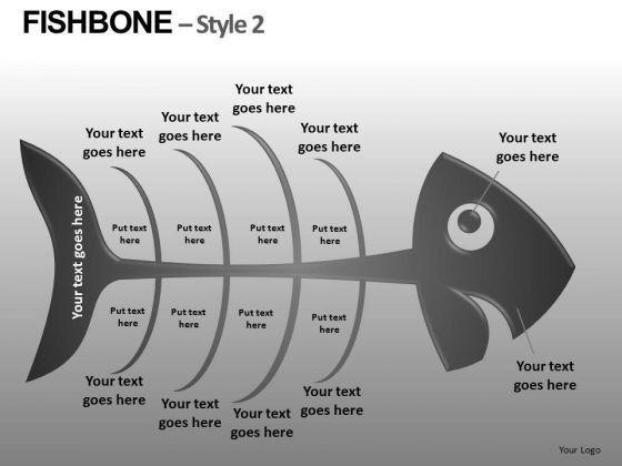 Download Root Cause Analysis Fishbone Diagram PowerPoint Editable ...