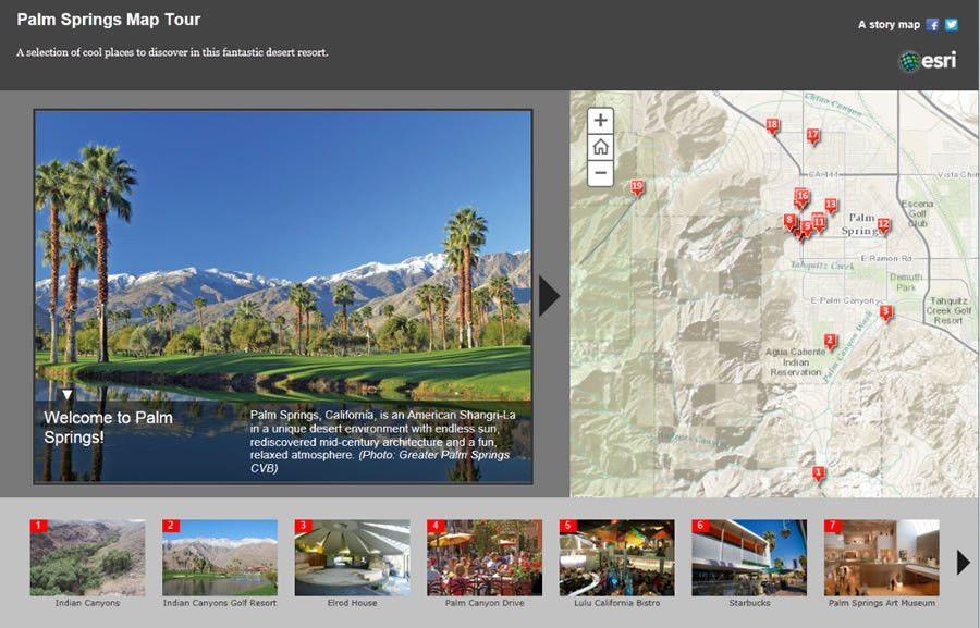 Make a Map Tour Story Map