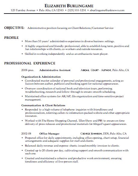 Example Of Customer Service Resume | haadyaooverbayresort.com