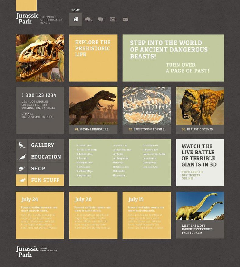 Museum WordPress Templates & Themes | Free & Premium | Free ...