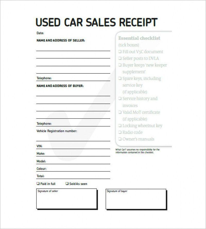 Vehicle Invoice Template | rabitah.net