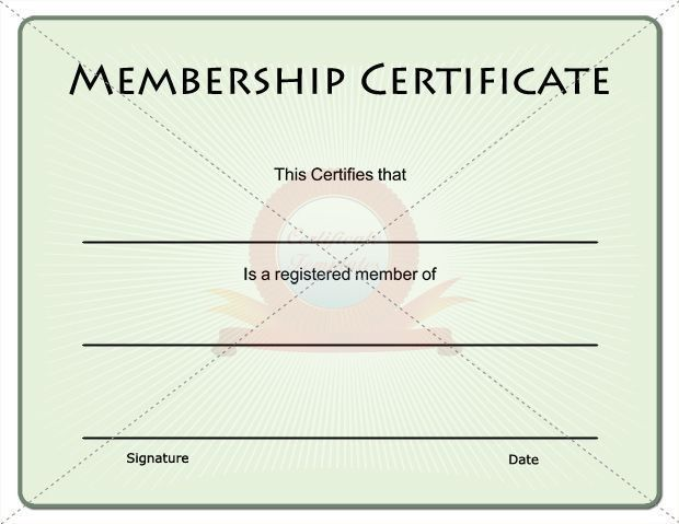 15 best Membership Certificate Template images on Pinterest ...