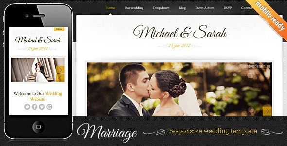Best Wedding Website Templates 2015 | ArtfulClub