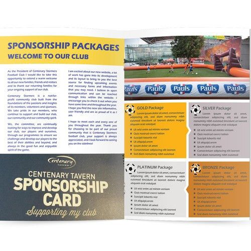 Create an enticing Sponsorship Proposal template for a soccer club ...