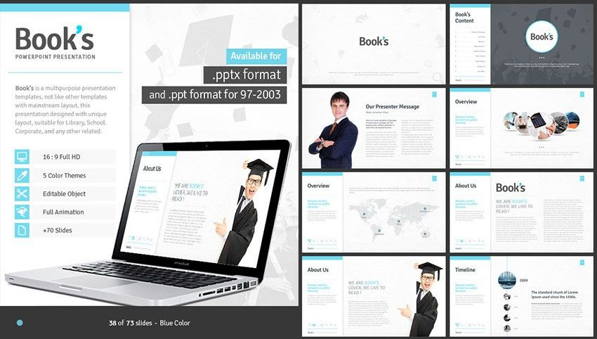 15+ Education PowerPoint Templates - For Great School Presentations