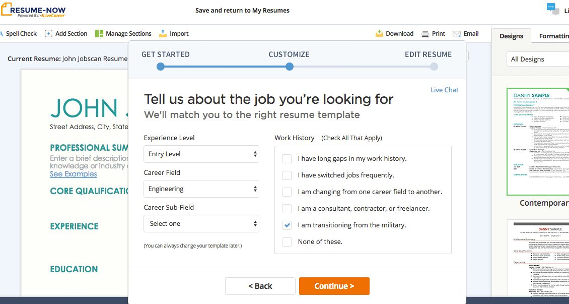 Resume Builders - Jobscan