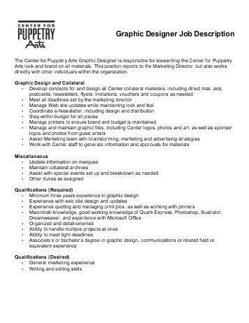 Marin Theatre Company Job Description GRAPHIC DESIGNER ...