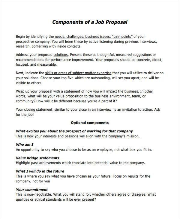 51+ Proposal Templates, Examples