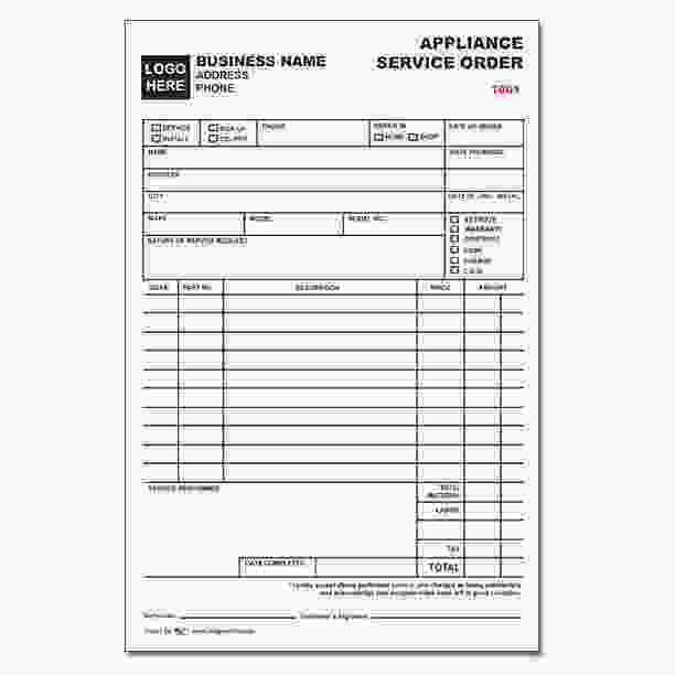 Custom Business Forms, Invoices, Receipts - Continuous Printing ...