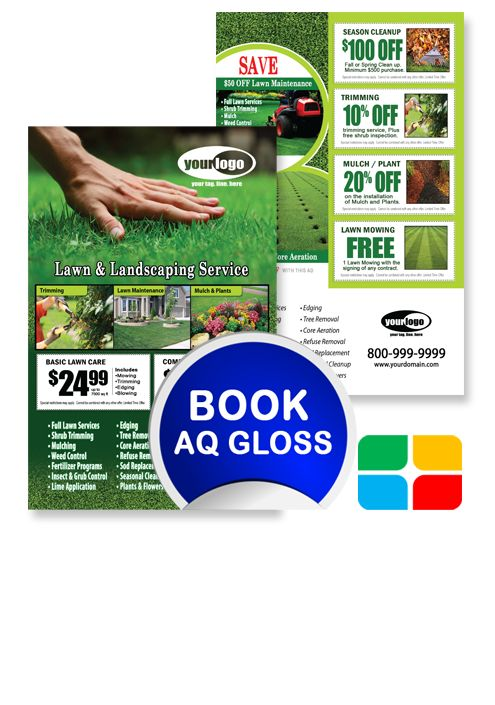 Landscaping Flyer Template LA010002 | Service Print Ads