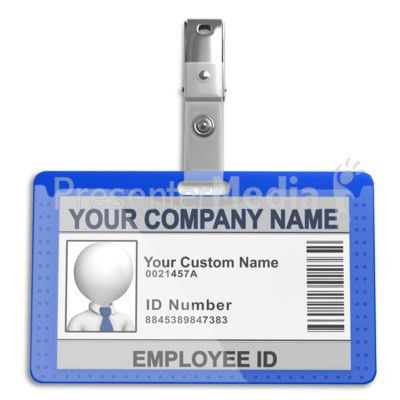 Single Id Badge - Science and Technology - Great Clipart for ...