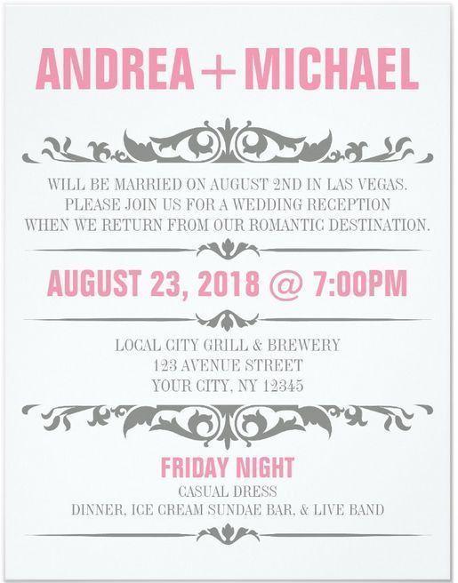 Best 20+ Reception invitations ideas on Pinterest | Wedding ...