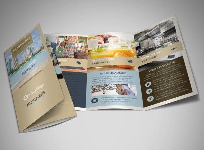 Hotel Brochure Template | MyCreativeShop