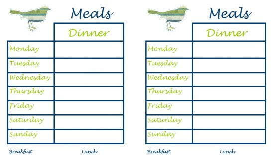 The 25+ best Weekly dinner planner ideas on Pinterest | Monthly ...